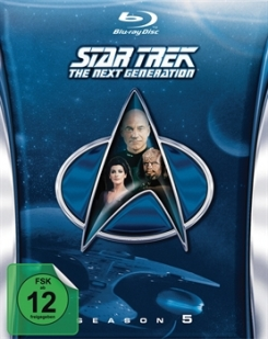 STAR TREK: The Next Generation – Season 5 - Blu-ray