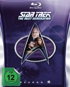 STAR TREK: The Next Generation – Season 6 Blu-ray